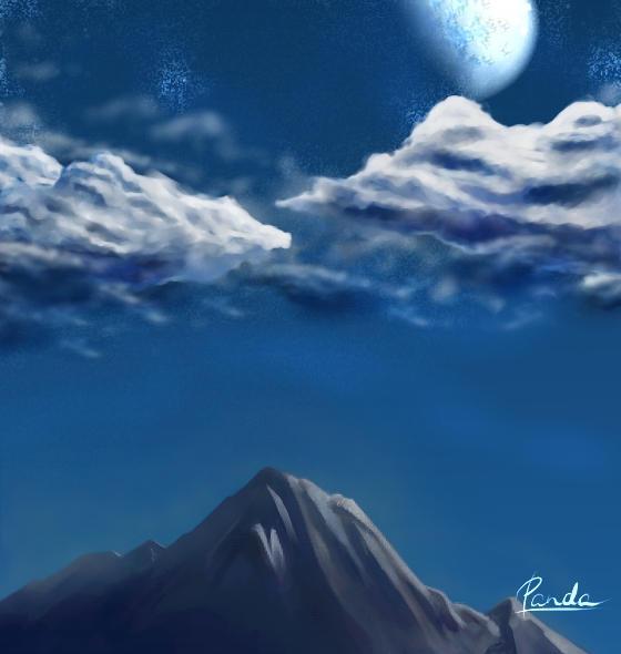 clouds by panda89