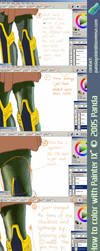 How to color with Painter IX? by panda89