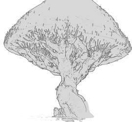 16.08 Scene w.i.p. Mid Tree by nimnimnimnimnimnim