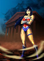 Wonder Woman by Madboy-Art