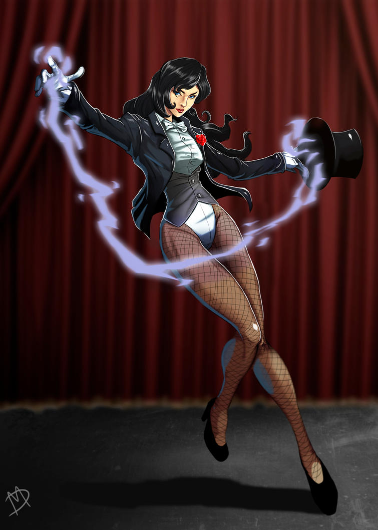 Zatanna by Madboy-Art