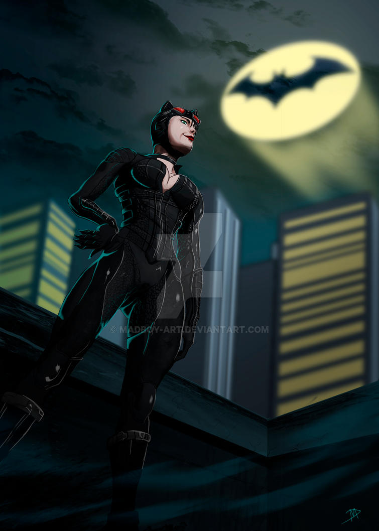 Catwoman Comission by Madboy-Art