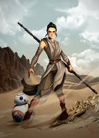Rey SW by Madboy-Art