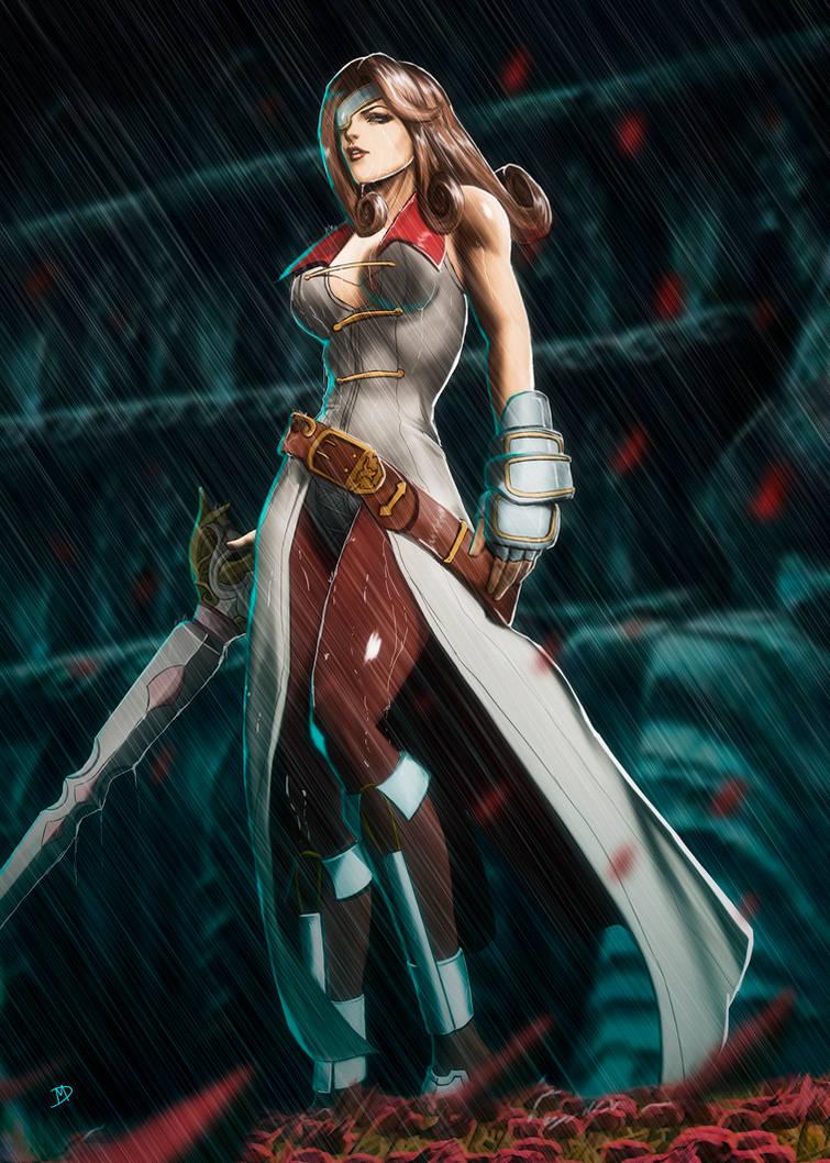 Beatrix Final Fantasy 9 By Madboy Art On Deviantart