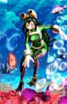 Tsuyu- Boku no Hero Academy.