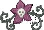 Pixel Art: Skullflower by LaCorpse