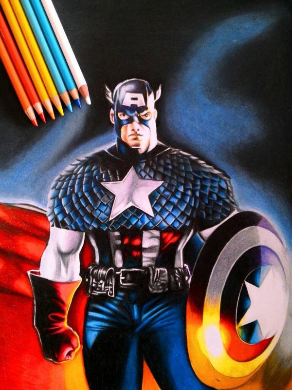 Captain America (Comission)