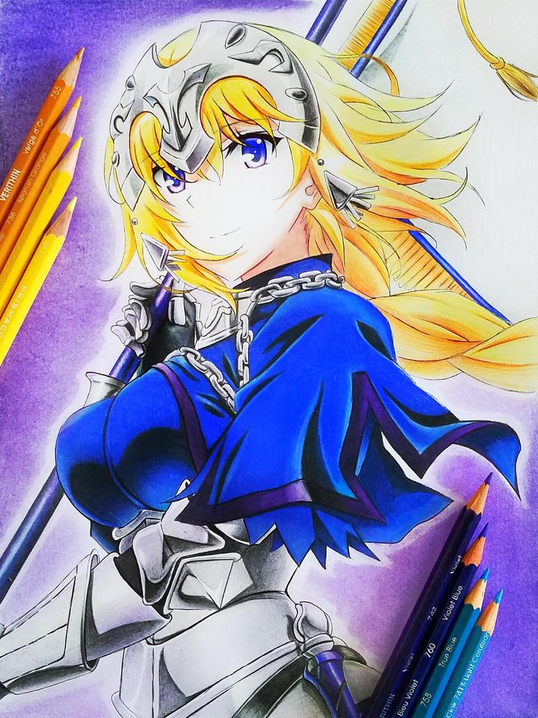 Jeanne d'arc  (Ruler) by Yandereraptor