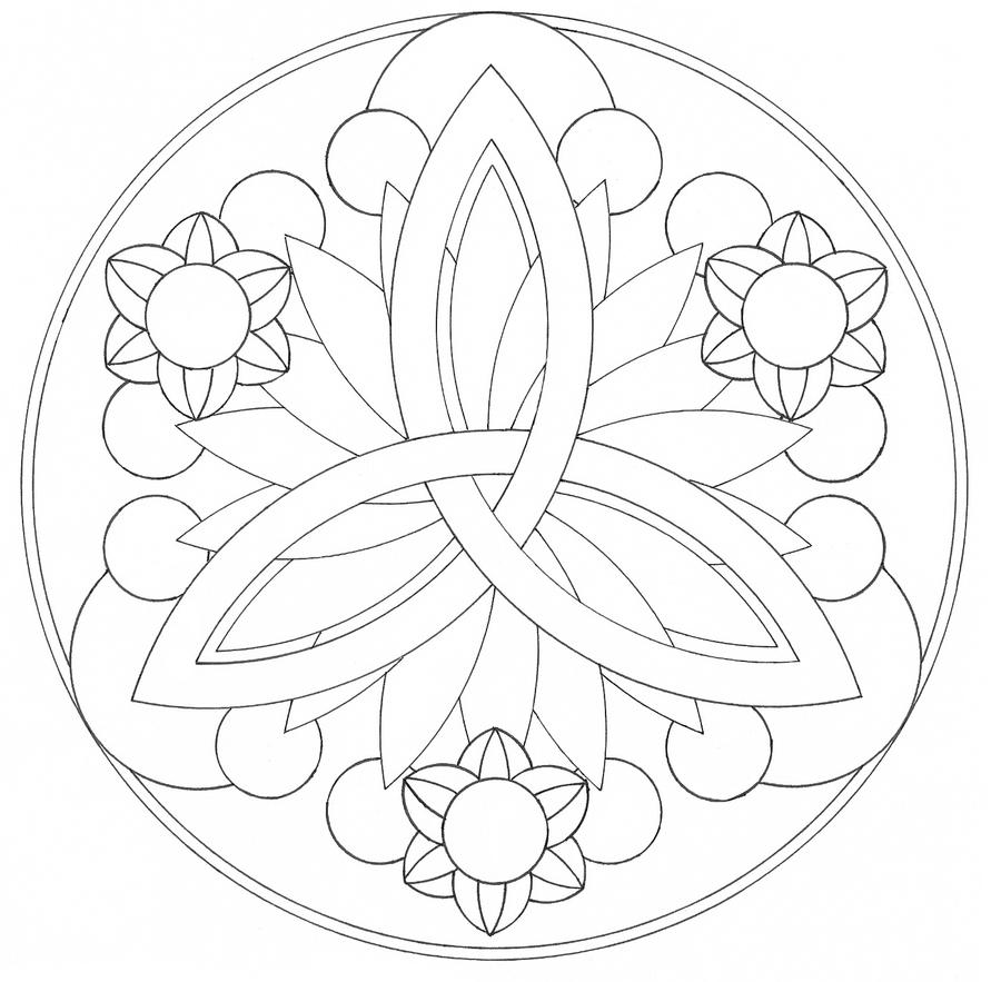 free mandalas for colouring new calendar template site Mandala Printable Coloring Pages  Coloring Pages Mandala Simple