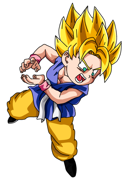Goku Super Saiyan 2 by...