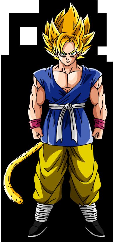 Son Goku SSJ V2 by SbdDBZ on DeviantArt