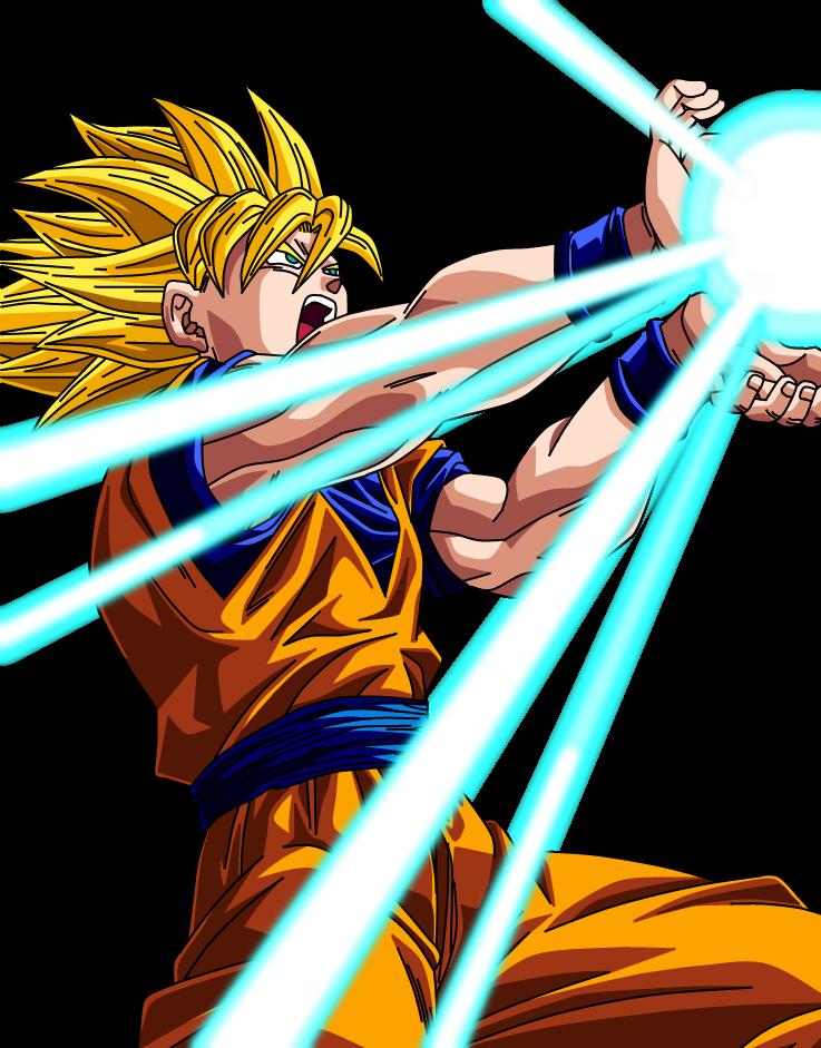 Goku super saiyan 2 by sbddbz on deviantart - Sangoku super sayen 2 ...