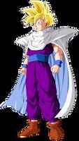 Gohan Full-Power Super Saiyan by SbdDBZ