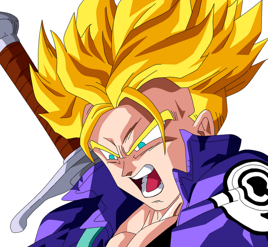 Trunks Super Saiyan by SbdDBZ on DeviantArt