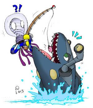 Omnis Fanart - Gone Fishin'
