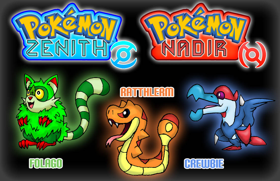 Pokemon Zenith And Nadir - Starters UPDATED