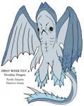 7 Days of Zmay, Day 4: Peculiar Dragon by SkarmorySilver