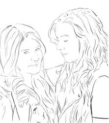 Carmilla and Laura by Tygershadow