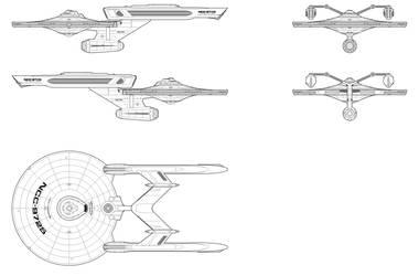 Landing Platform Dock - Townsend - NCC-9725 by ShipSchematicsNet