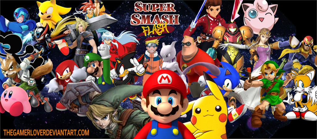 super smash flash x