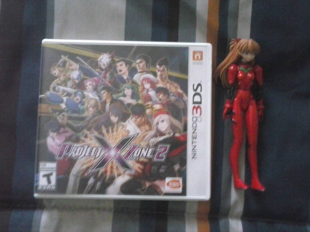 Project X Zone 2 Gotten An Asuka Toy Figure By Thegamerlover On