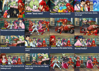 Sakura Wars Crazy Easter Hunt Page 2 (SMG4 Ref) by TheGamerLover