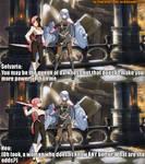 TGLMU X BBTAG 1: Selvaria and Neo by TheGamerLover