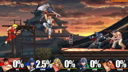 Project X Zone Characters in Smash Ultimate by TheGamerLover
