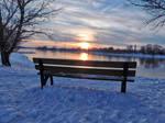 Snow white Sunset