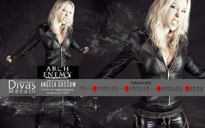Octubre: Calendario Divas del Metal 2013