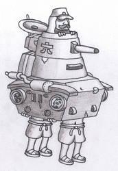 Metal Slug 3 - Japanese Tank by Division6Tank