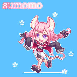 Commission work 'sumomo'