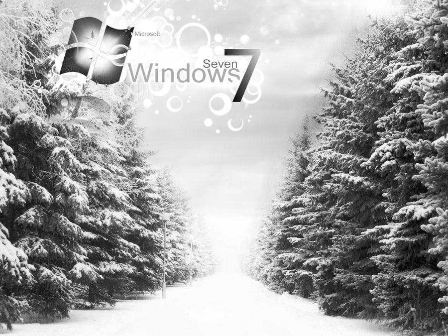 Windows 7 Winter Wallpaper By Heyman Gfx On Deviantart