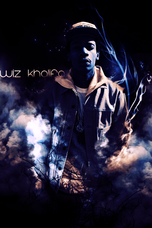 Wiz Khalifa By Heyman Gfx On Deviantart Wallpaper Iphone 4