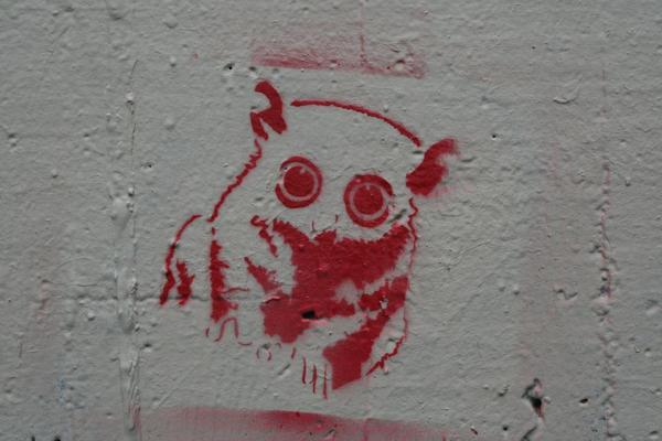 Tarsier Stencil by KateBait