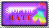Stop the Hate by LovingLifeLivingFree