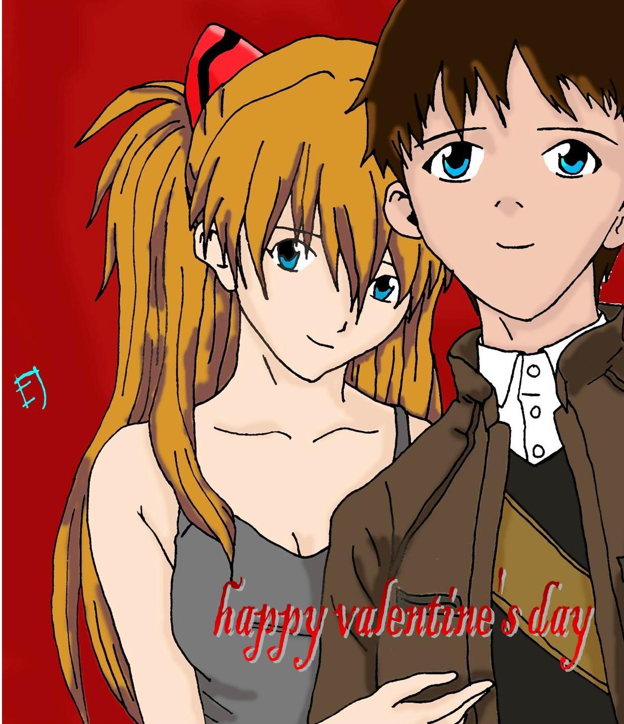 happy valentine's day by EJSalvillaAnasarias