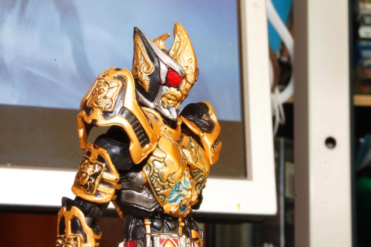 S.I.C. Kiwami Tamashii Kamen Rider Blade King Form by ...