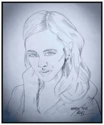 portrait sketch by pegucool