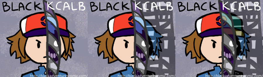 BLACK KCALB by yshoulditellu
