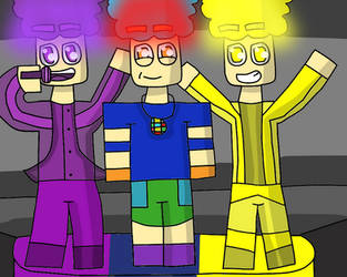 The party animals by Gamerrobloxian1195
