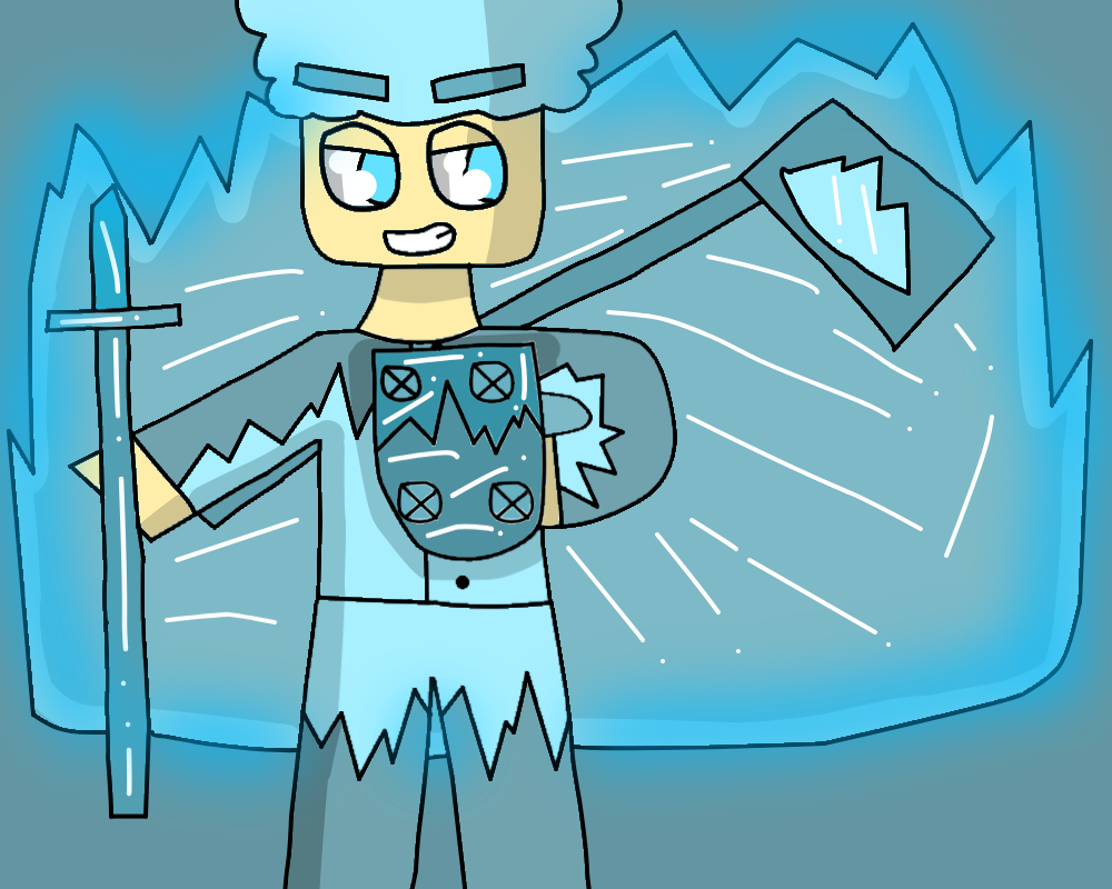 The ice clan by Gamerrobloxian1195