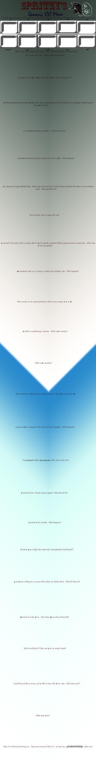 Blank Generic OC Meme by the-suns-moon