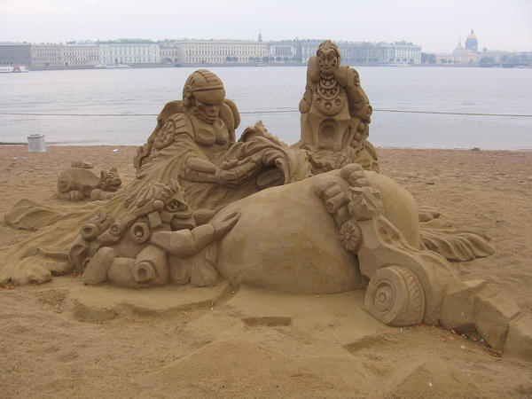 Sand sculpture 3 by RitaFromRussia