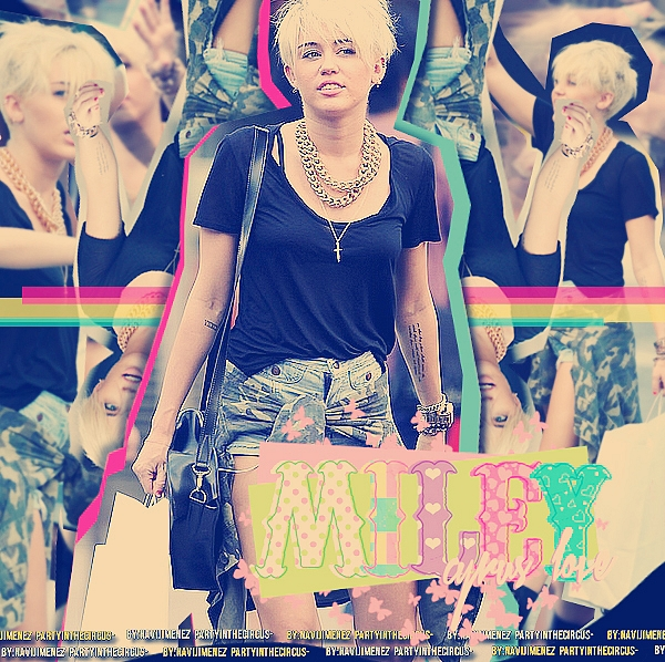 Miley cyrus paparazzi by partyinthecircus - 426.4KB