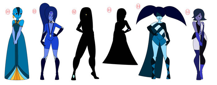Lapis Lazulis - Batch 4 - OPEN by ThineDreamer