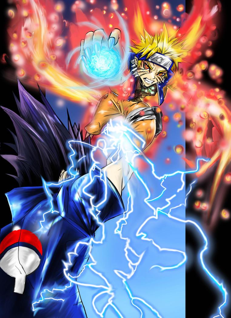 Naruto vs sasuke pt2 finished by zhane00 on DeviantArt Naruto Vs Avatar