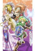 The Legend of Zelda OOT by zhane00