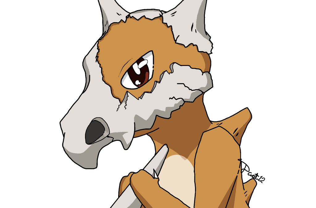 Corpsey Cubone ^w^ by dcat12