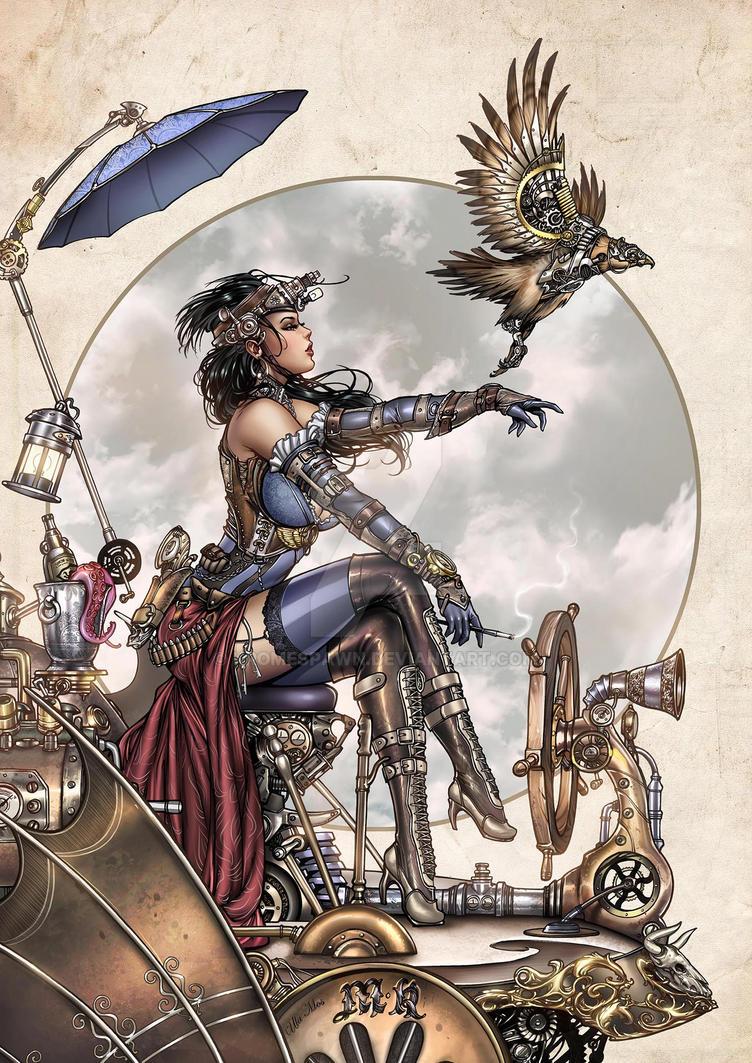 Lady Mechanika by Kromespawn